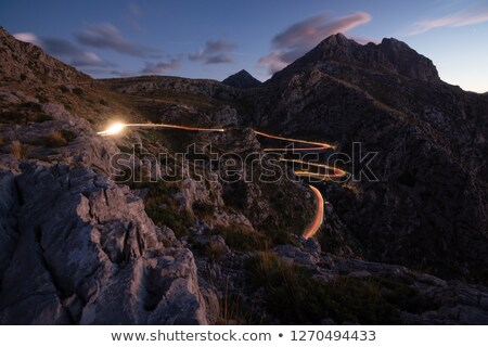 Mallorca cliff edge Stock photo © unikpix