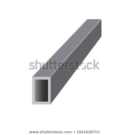 metal · 3D · generado · Foto · industrial · acero - foto stock © boggy
