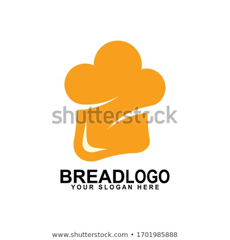 white bread logo vector icon Stock photo © blaskorizov