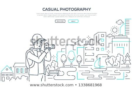 fotoğrafçılık · fotoğrafçı · simgeler · hat · dizayn - stok fotoğraf © decorwithme