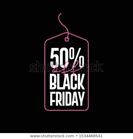 Closeout Big Black Friday Sale, Special Offer Stock photo © robuart