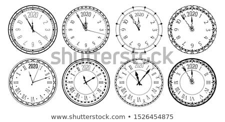 Clock dial 2020 Stock photo © Oakozhan