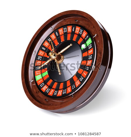 roulette wheel side view 3d stock photo © djmilic