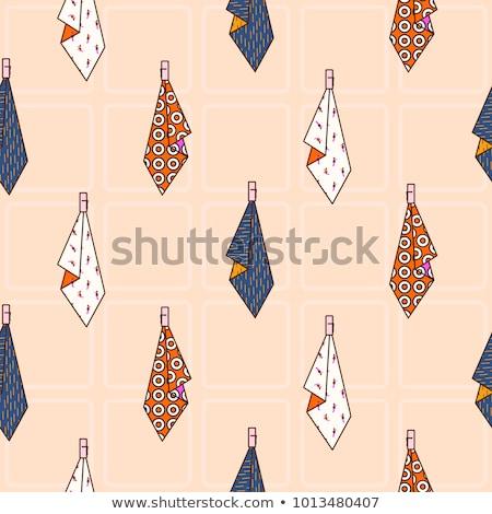 キッチン タオル 絞首刑 フック シームレス ベクトル ストックフォト © yopixart