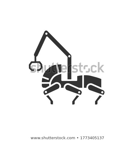 artificial intelligence line web glyph icons stock photo © anna_leni