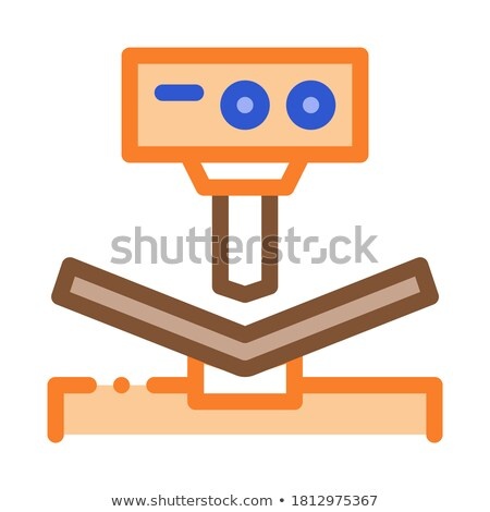 breaking tool factory metallurgical icon vector illustration stock photo © pikepicture