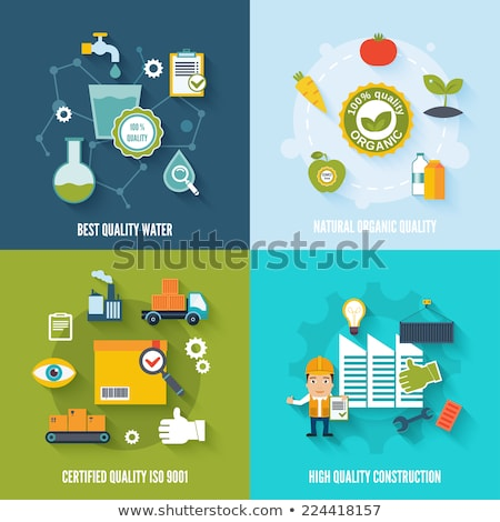 Construction quality control concept vector illustration Stock photo © RAStudio