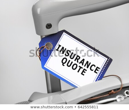 Travel Agency or Insurance of Save Trips Company Stock photo © robuart