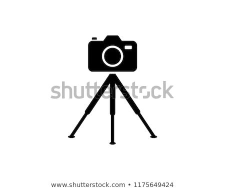 Cámara de vídeo icono vector ilustración Foto stock © pikepicture