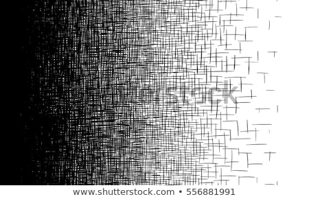 abstract black and white speed fast pattern halftone background Stock photo © SArts