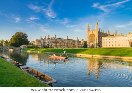 River Cam - Cambridge England Stock photo © jeayesy
