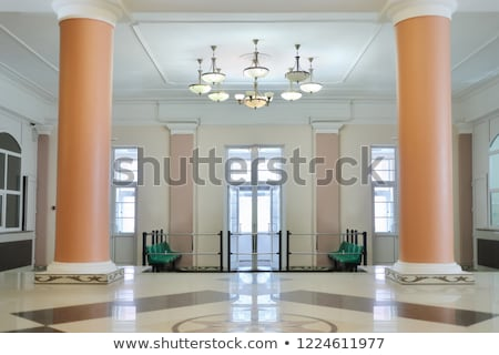 empty hall with columns stock photo © paha_l
