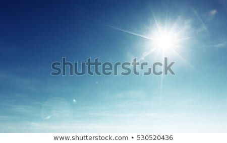 bright sun Stock photo © magann