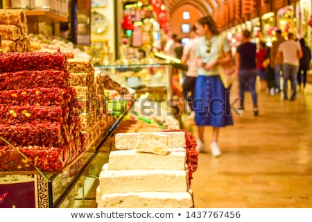 Spice Bazaar in Istanbul Stock photo © rognar