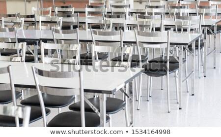пусто школы столовой зале Сток-фото © rmarinello