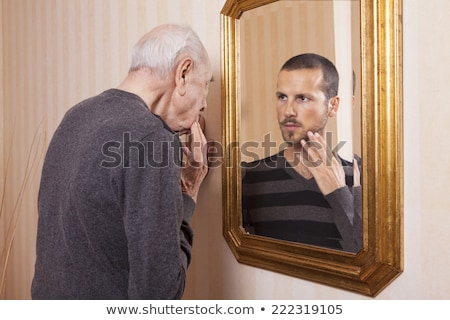 portrait of senior man and young man stock photo © photography33