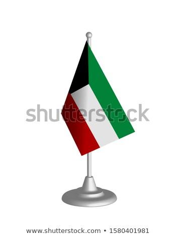 Miniatuur vlag Koeweit geïsoleerd vergadering Stockfoto © bosphorus