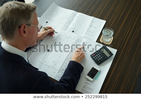 architects making calculations stock photo © photography33