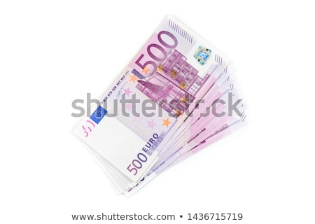 Euro · pénz · bankjegyek · 500 · makró · fotó - stock fotó © illustrart