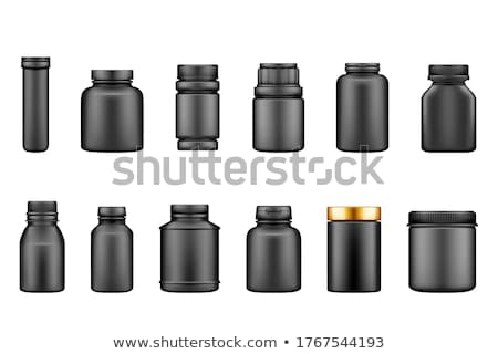 White medicine bottle Stock photo © grafvision