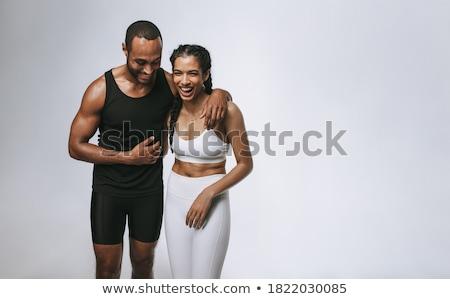 monochrome workout #2 Stock photo © dolgachov