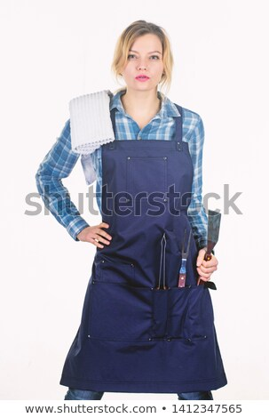 Woman at a barbecue Stock photo © photography33