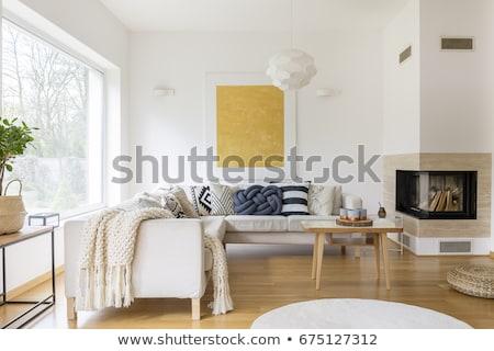 Moderne interieur hal 3D boom Stockfoto © rashch