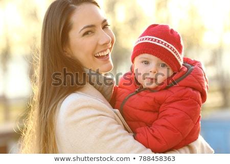 гордый матери сын улыбаясь камеры ребенка Сток-фото © wavebreak_media