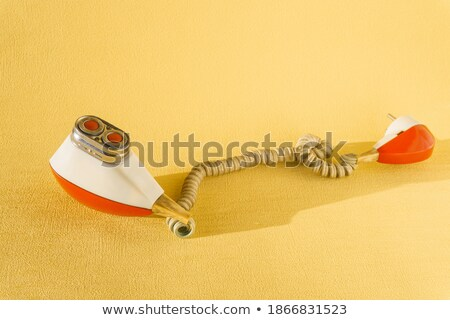 Soviet vintage electric razor Stock photo © ultrapro