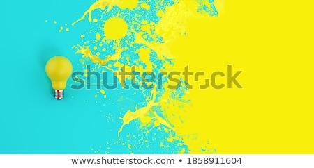 Stockfoto: Inspiratie · knop · moderne · woord · partners