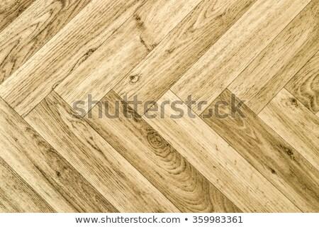 artificial parquet floor Stock photo © prill