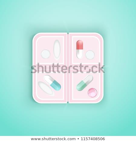 Foto stock: Aixa · de · comprimidos · diários