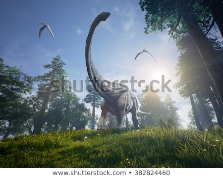 Diplodocus Dinosaur 2 Stock photo © AlienCat