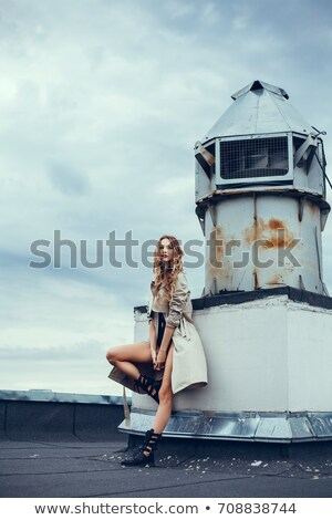Woman dressd up in mod style on white background Stock photo © wavebreak_media