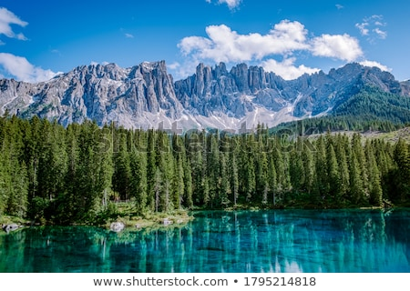 Dolomiti - Latemar mount Stock photo © Antonio-S