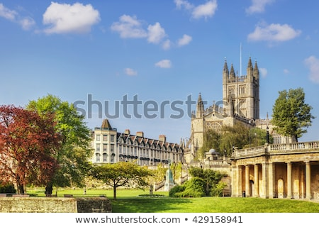 banho · abadia · igreja · inglaterra - foto stock © snapshot