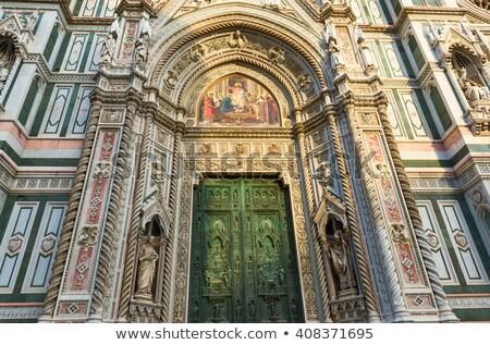 reprodukció · szobor · Florence · Olaszország · építészet · Európa - stock fotó © billperry