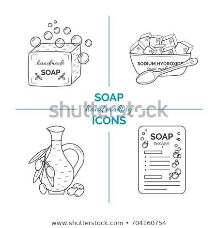 Making Soap Sud Bubbles Stock photo © eldadcarin