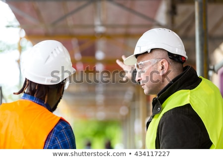 two technicians working in office Stock photo © photography33