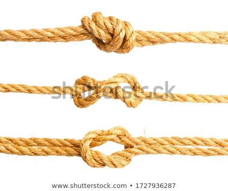 Statku liny węzeł tle bezpieczeństwa przestrzeni Zdjęcia stock © kawing921