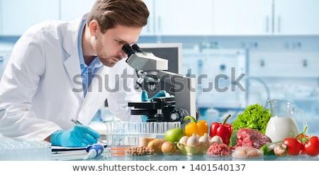 gıda · üretim · makine · fabrika · süt - stok fotoğraf © lightsource