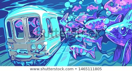 Street Graffiti Mural Stock photo © ArenaCreative