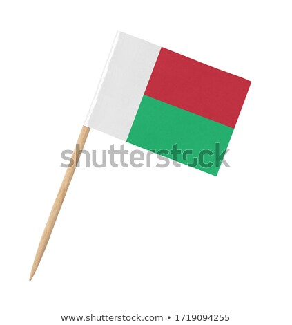 Miniature Flag of Madagascar Stock photo © bosphorus