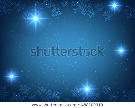 festal background of white snow Stock photo © ssuaphoto