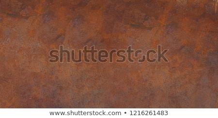 Velho ferro coberto ferrugem isolado branco Foto stock © gavran333