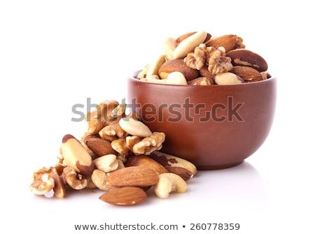 mix of raisins and almond nut stock photo © kirill_m