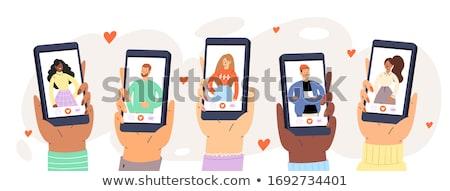 Find love, vector illustration. Stock photo © ikopylov