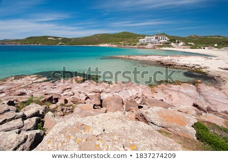 Caletta beach - San Pietro island Stock photo © Antonio-S