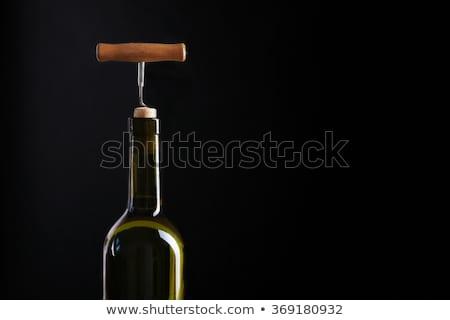Vinho branco vidro Foto stock © Discovod