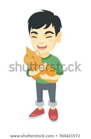 geen · katten · Rood · rubber · kat · dieren - stockfoto © rcarner